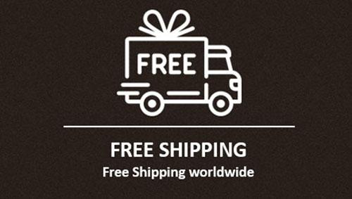 worldwide free shipping