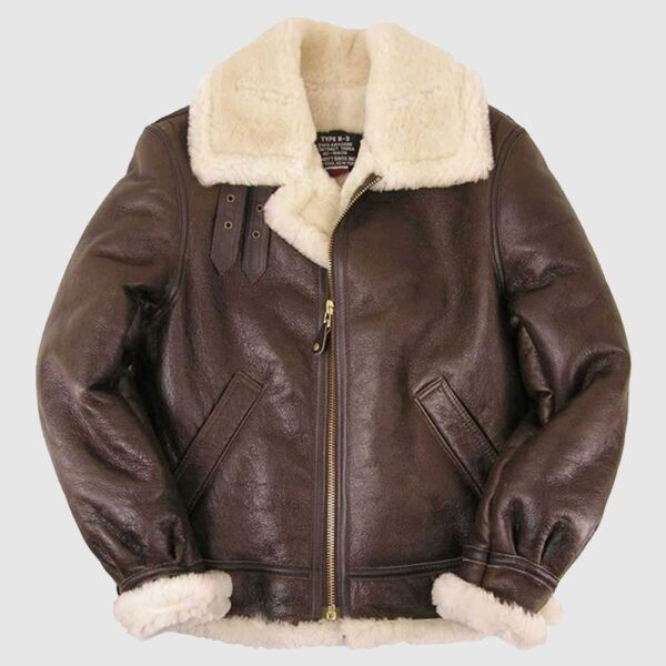 B-3 Sheepskin Bomber Jacket