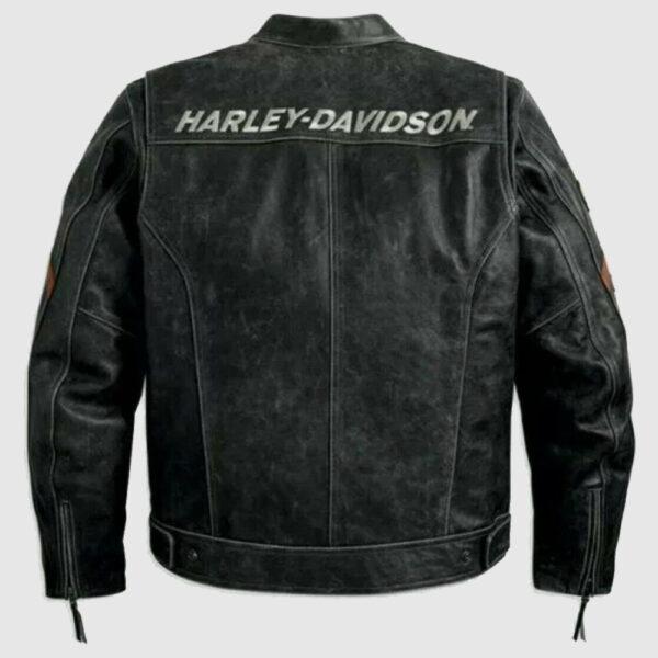 Harley Davidson leather jacket men