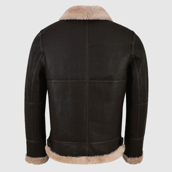 Men Black Sheepskin Jacket