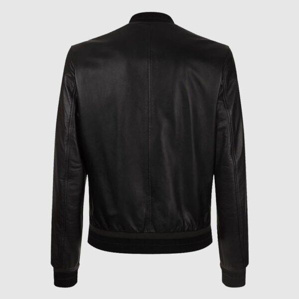 Leather Lambskin Bomber Jacket of Dolce & Gabbana