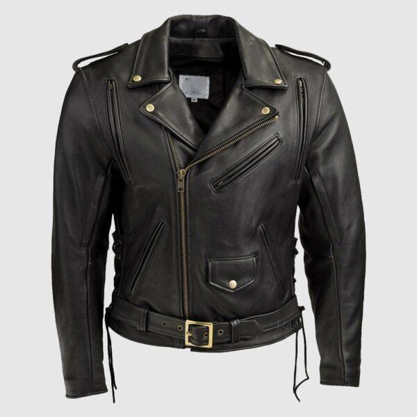 Men's Classic Motorcycle Jacket