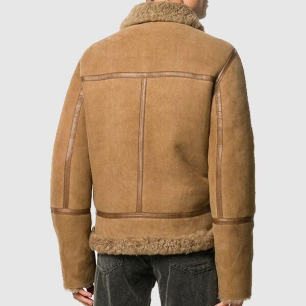 Mont Browne Shearling Jacket Sheepskin Jacket