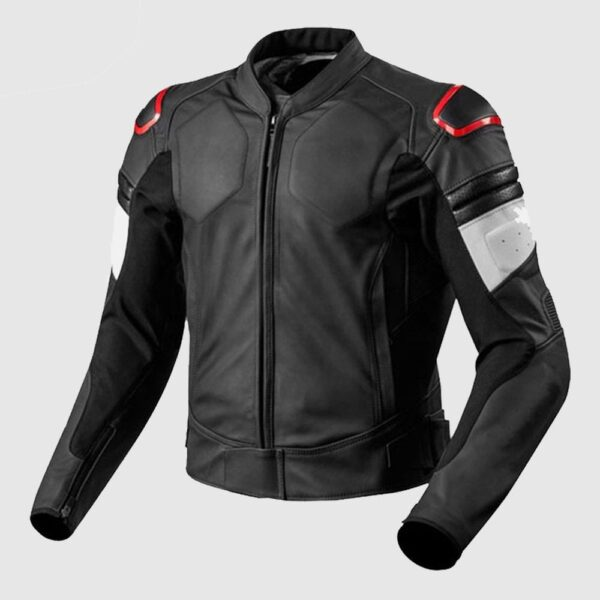 Motorcycle Racing Leather Riding Jacket
