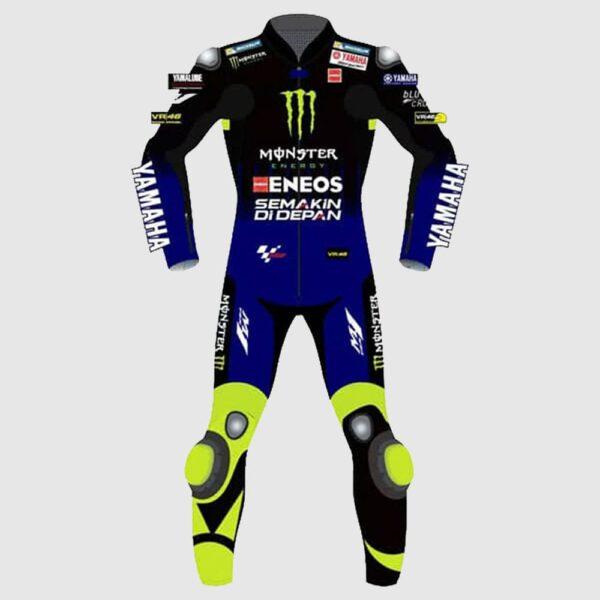 YAMAHA Monster Energy MotoGP Rossi Replica Biker Racing Suit