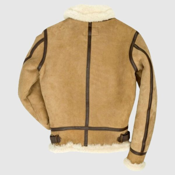 B-3 Bomber Suede Leather Jacket