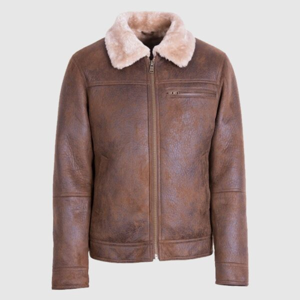 Aviator Shearling Comfort Sheepskin Leather Jacket