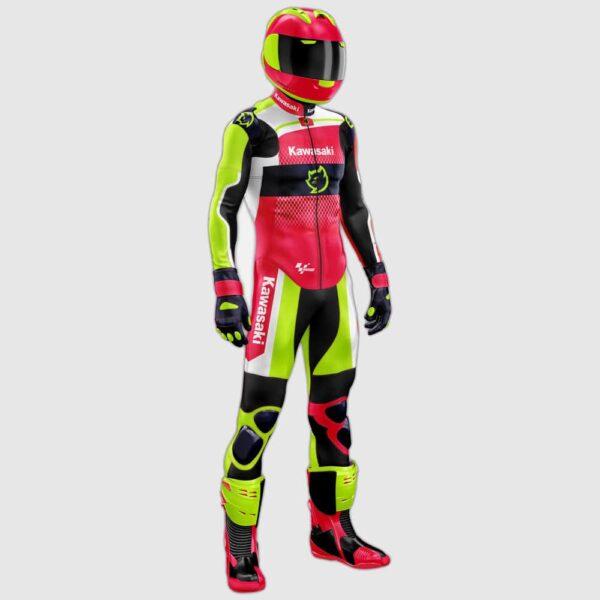 Custom made motogp leather suit-min