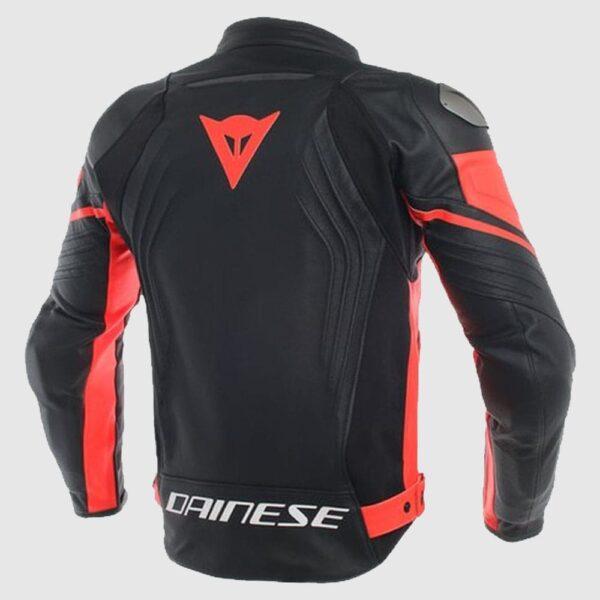 Dainese Racing Jacket Red MotoGP Leather Jacket