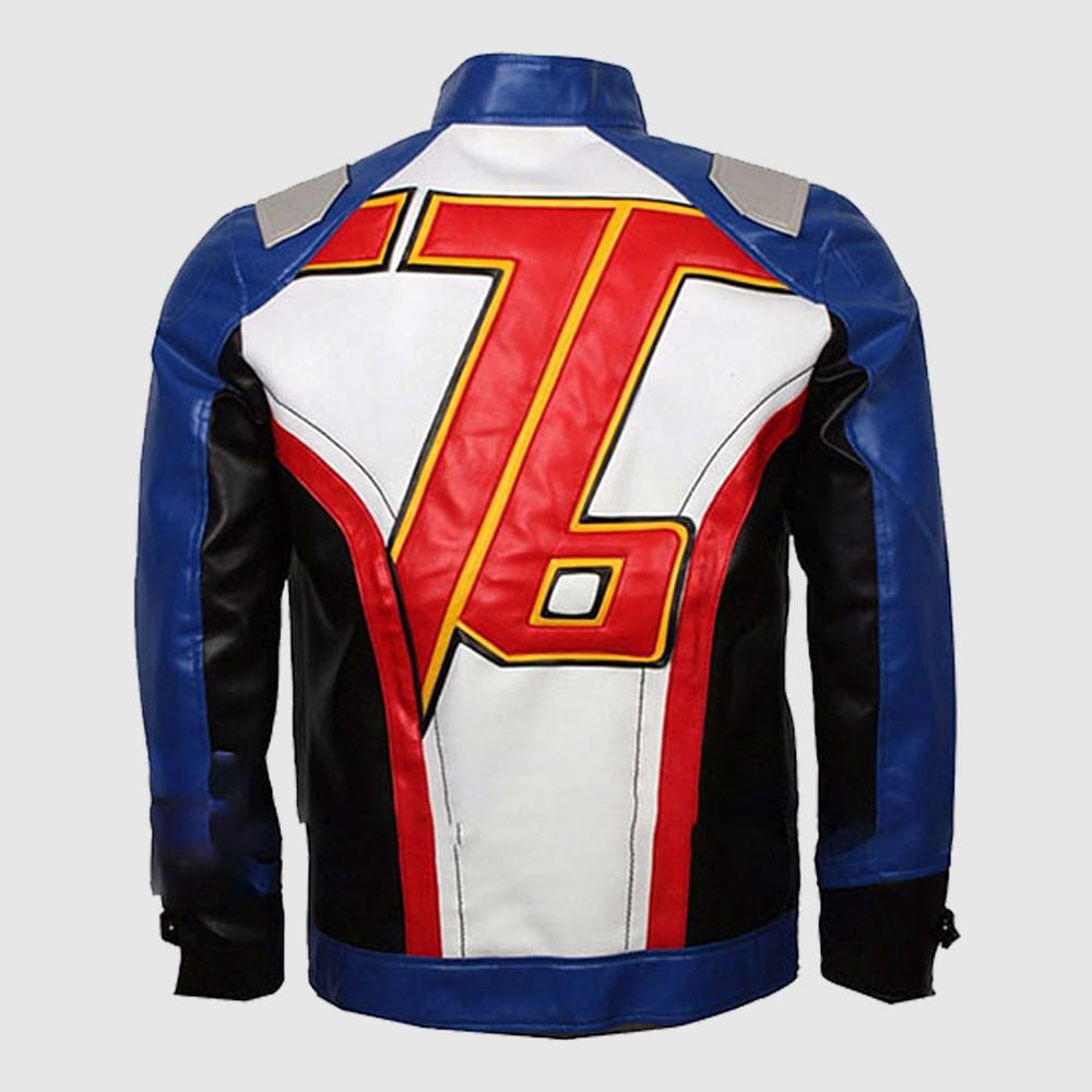 Jack Morrison Overwatch Game Soldier 76 Stylish Leather Jacket