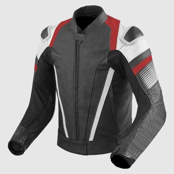 Red Flash Gear Men Leather Motorcycle & Motogp Racing Jacket