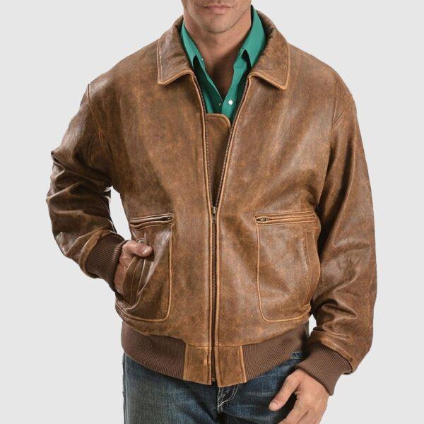 Scully Vintage Bomber Jacket