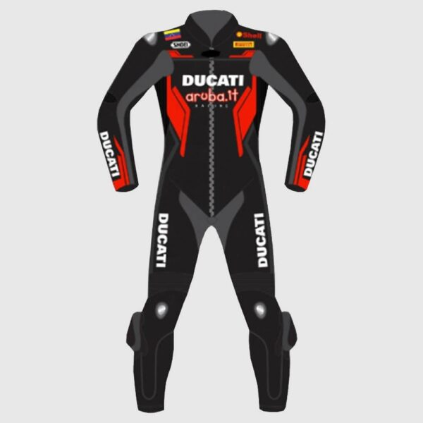 ucati Corse Motorbike Leather Racing Motorcycle Suit 2021
