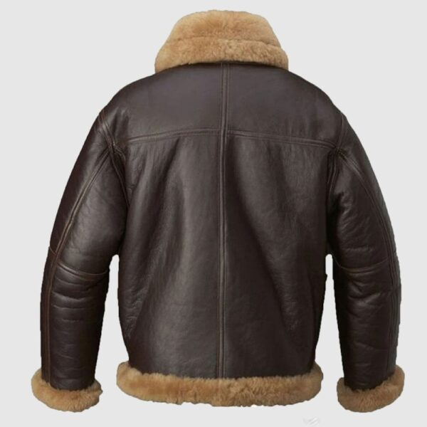 Aquaman Arthur Curry Jacket Leather Coat B3 Bomber Jacket