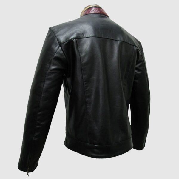 Bruce Wayne Genuine Leather Jacket