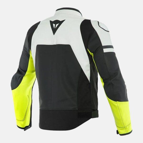 Dainese Agile Leather Jacket White Motogp Leather Jacket