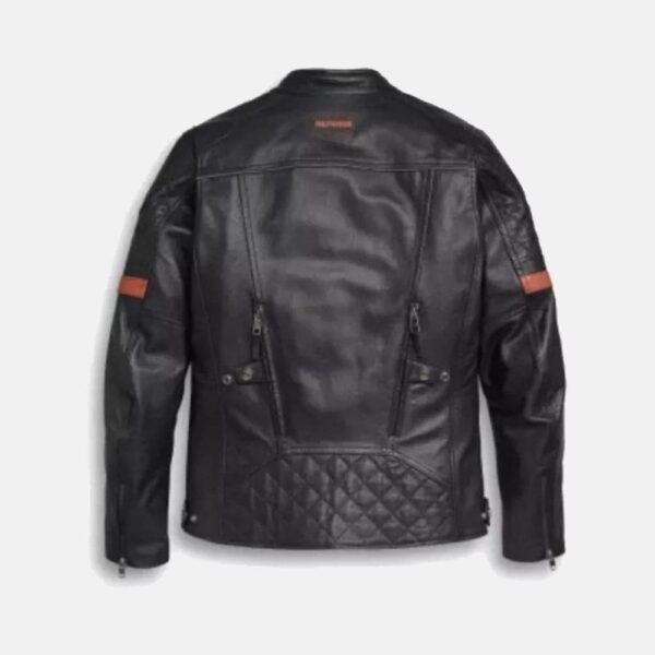 Harley Davidson Men's Vanocker Waterproof Leather Jacket