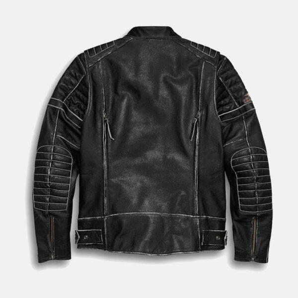 High Quality Harley Davidson Jacket Black Leather Jacket Men