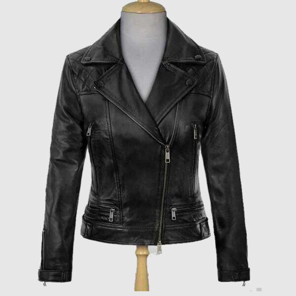 Jennifer Lawrence Red Sparrow Leather Jacket