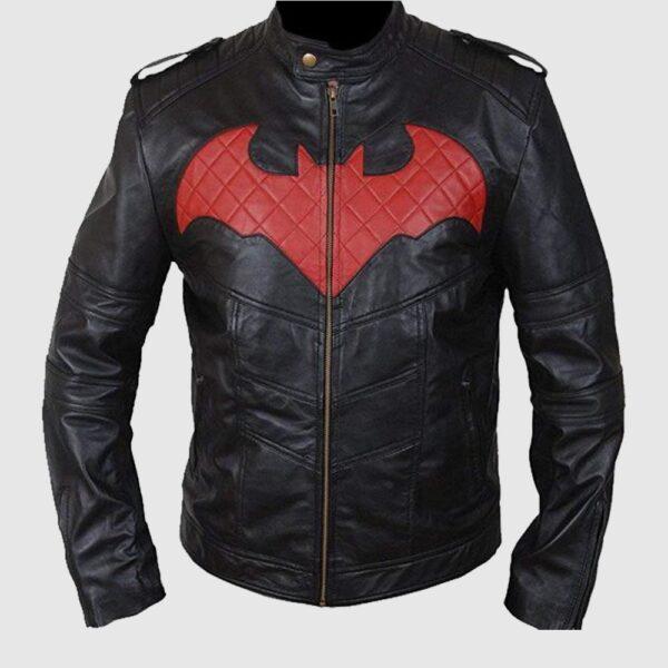 Men's Batman Genuine Leather Jacket