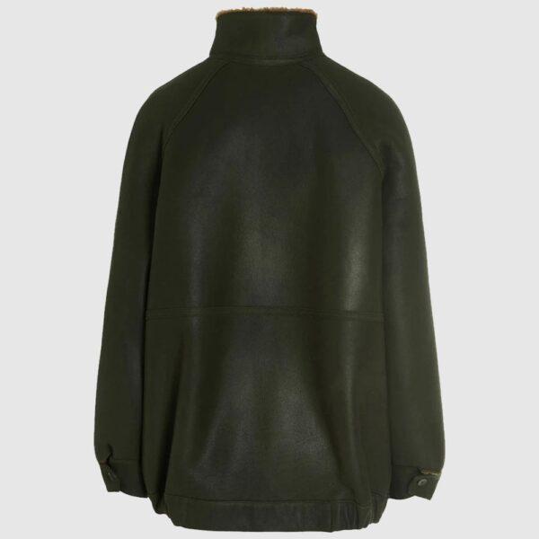 Alberta Ferretti Aviator-Style Leather Jacket