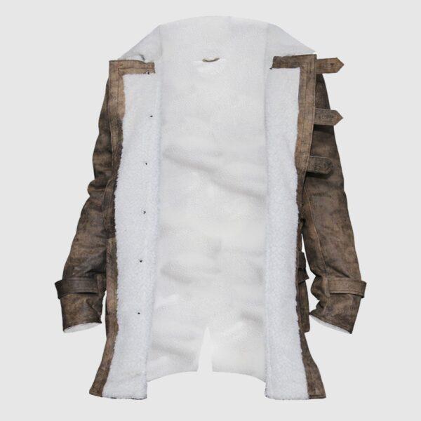 Bane Coat Real Leather Jacket Tom Hardy The Dark Knight Rises