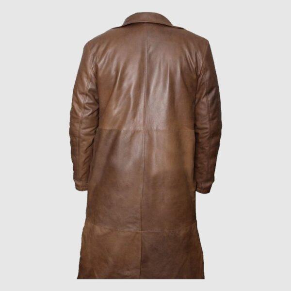 Batman vs Superman Tan Jacket Trench Coat