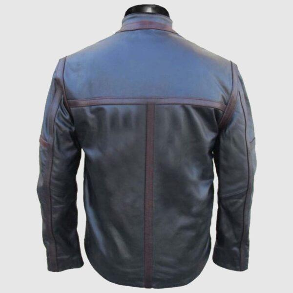 Bucky Barnes Sebastian Stan Jacket Black Leather Jacket