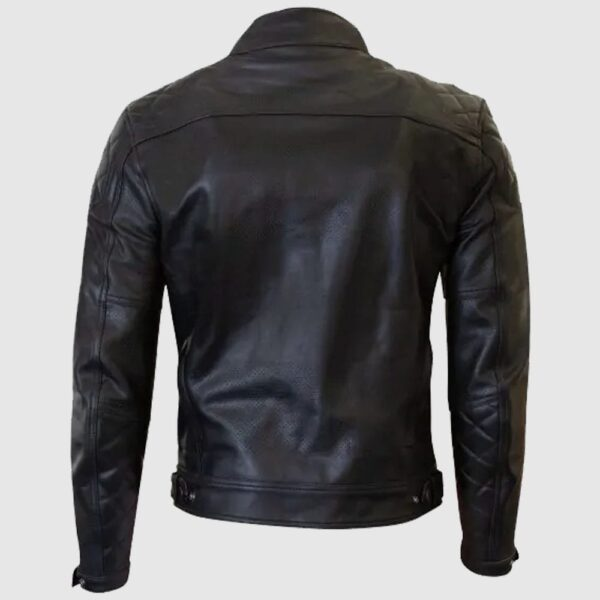 Cambrian Jacket Black Leather Jacket