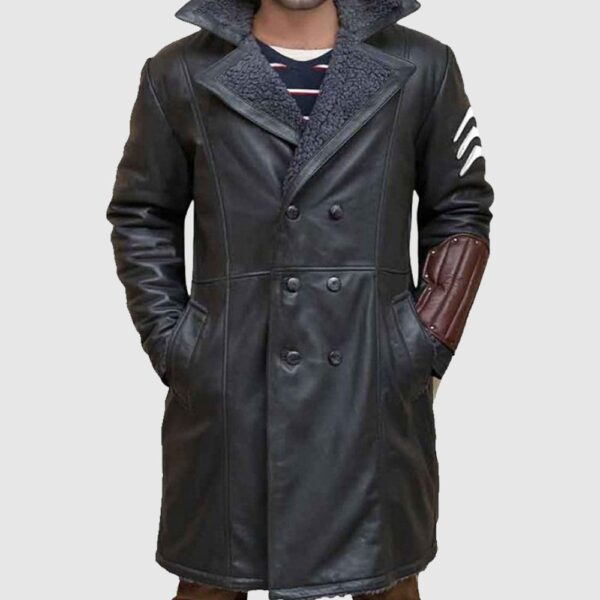 Captain Boomerang Suicide Squad Leather Coat