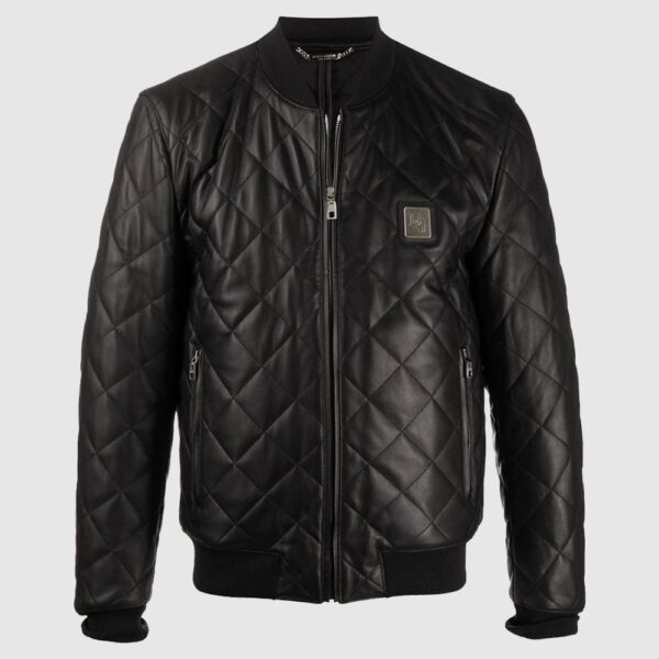 Dolce & Gabbana Quilted Leather Jacket