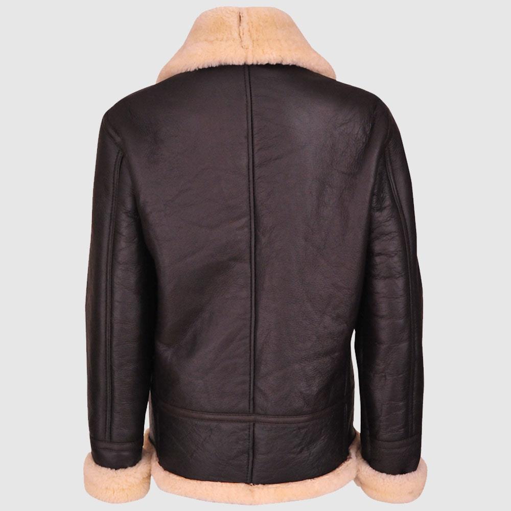 Women B3 Aviator Shearling Leather Jacket