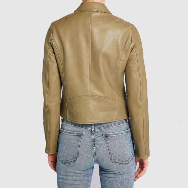 Meem Leather Biker Jacket Fashion Leather Jacket Women
