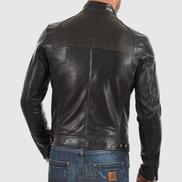 Betox Bomber Leather Jacket